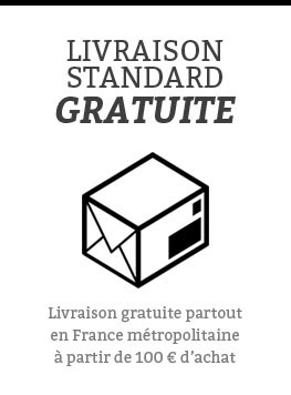 Livraison standard gratuite