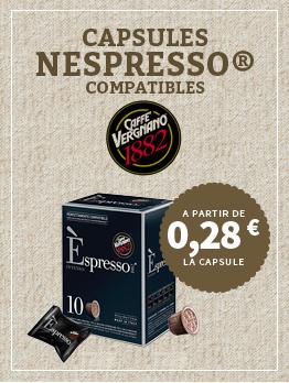 Capsules Nespresso compatibles Vergnano