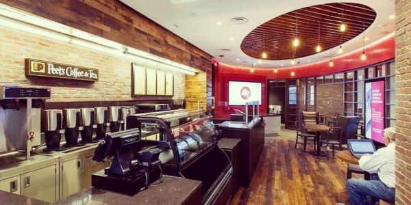 La banque coffee shop !