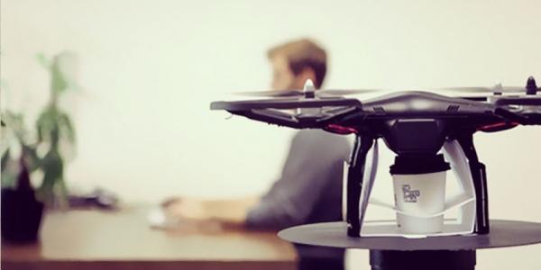 CoffeeCopter : Le room-service robotisé pour le café !