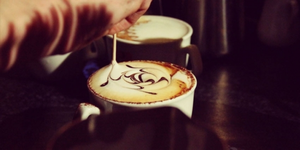 Le latte art, ou quand le café rencontre le lait