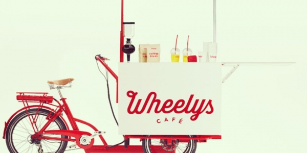 La café bicyclette ambulant