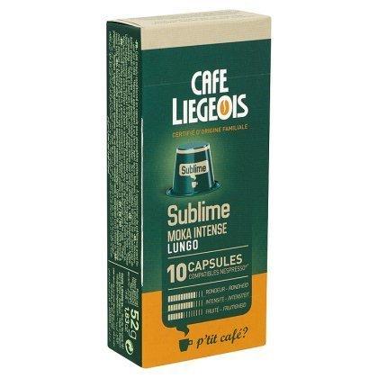 10 capsules compatible nespresso® sublime - café liegeois