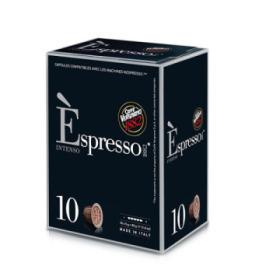 capsules nespresso® compatibles espresso intenso caffè vergnano   x 10