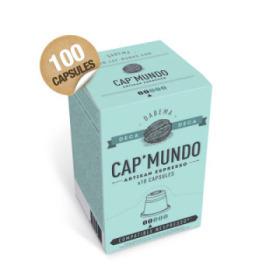 100 capsules nespresso® compatibles dabéma déca cap'mundo dluo proche
