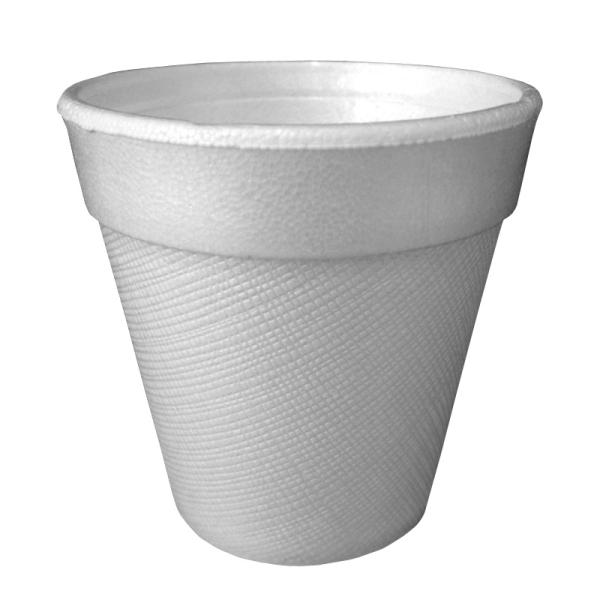 gobelet isotherme en polystyrène blanc 18 cl x 100