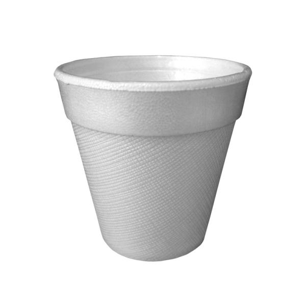 gobelet isotherme en polystyrène blanc 10 cl x 1000