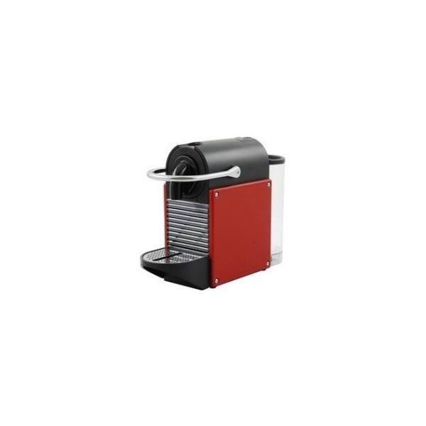 cafetière nespresso magimix pixie rouge métal