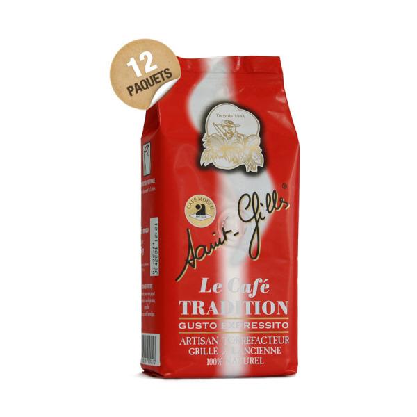 café moulu gusto expressito saint-gilles - 12x 250 g