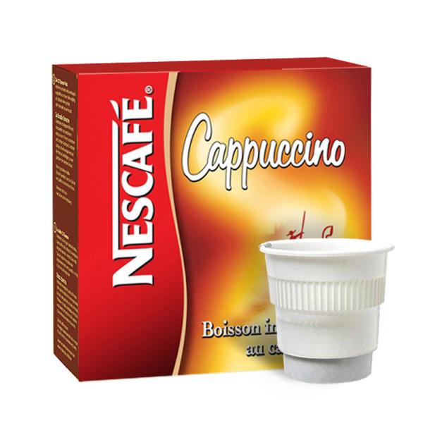 boisson pré-dosée nescafé cappuccino x 20