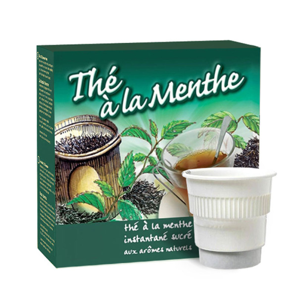 boisson pré-dosée thé menthe x 20