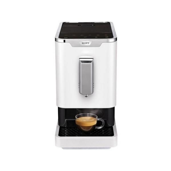 robot café scott slimissimo blanc