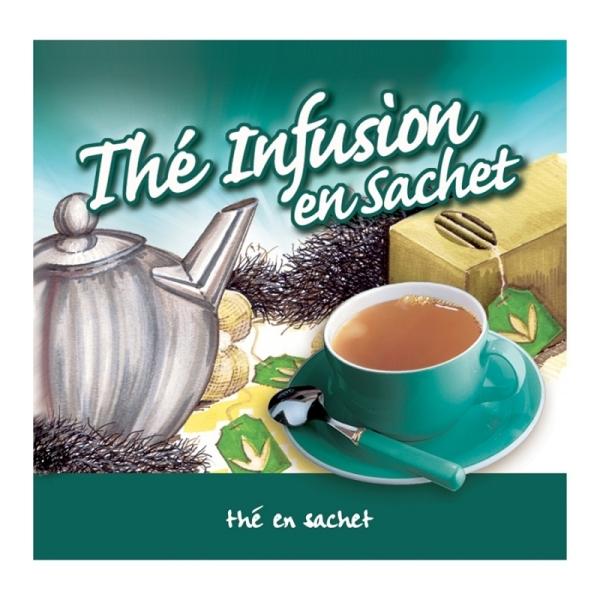 boisson pré-dosée thé infusion en sachet x 300