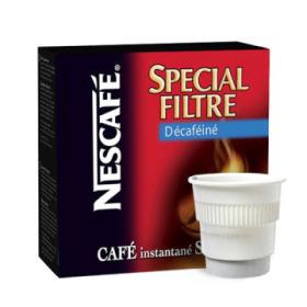 boisson pré-dosée nescafé filtre décaféiné x 300