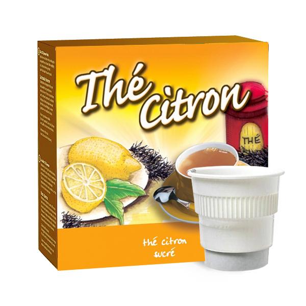 boisson pré-dosée lipton thé citron sucré x 300