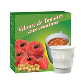 boisson pré-dosée potage tomates avec croûtons x 20