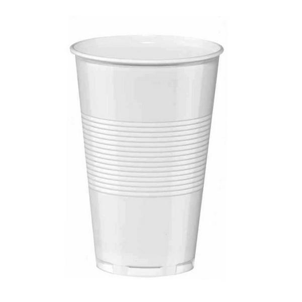 gobelet en plastique blanc (20 cl) x 3000