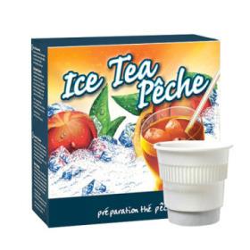 boisson pré-dosée froide ice tea pêche x 300