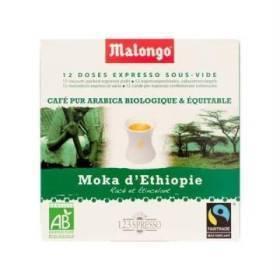 12 doses spresso moka d'ethiopie - bio
