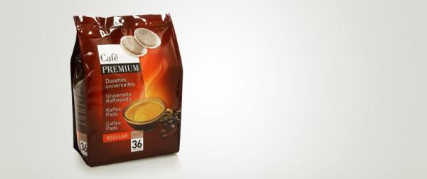 216 dosettes pour senseo® premium regular doux 6 paquets de 36 dluo passée 03/2020