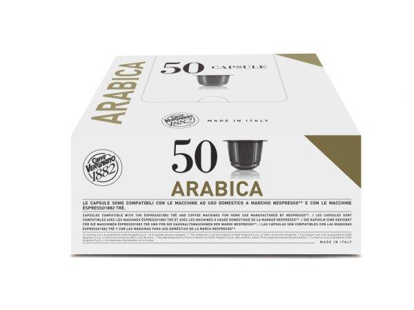 capsules nespresso® compatibles espresso arabica caffè vergnano x 50