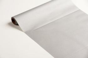 chemin de table papier rouleau uni argent (0,4 x 10 m)