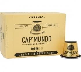 10 capsules nespresso® compatibles zebrano equilibré cap'mundo