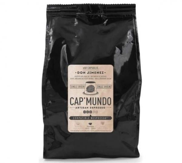50 capsules nespresso® compatibles don jimenez cap'mundo