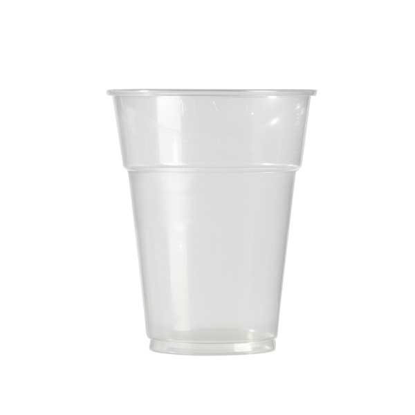 gobelet en plastique transparent 50 cl x 50
