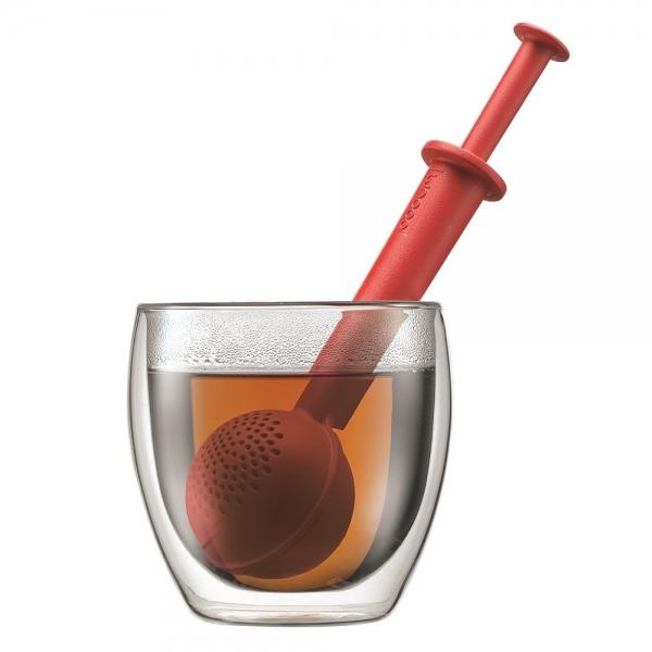 infuseur à thé bistro bodum® rouge