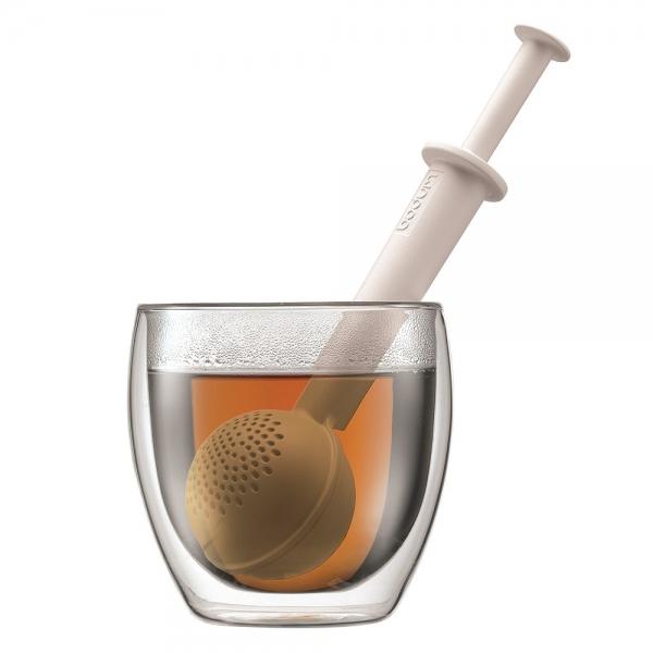 infuseur à thé bistro bodum® blanc