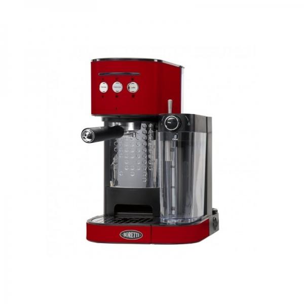 machine expresso boretti rouge