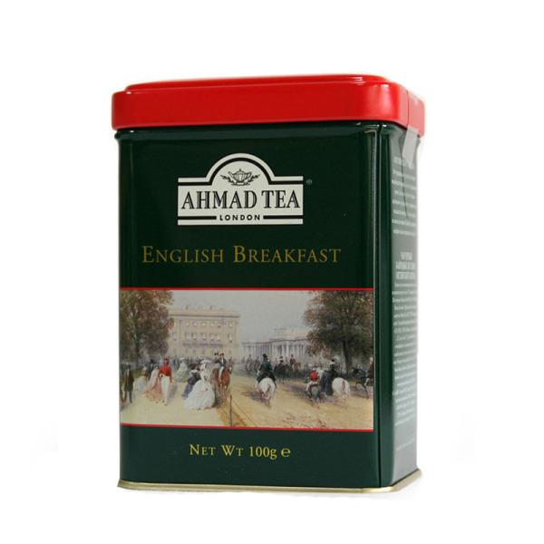 Tr s bon th noir en vrac ceylan de la marque ahmad tea - Boite a the en vrac ...