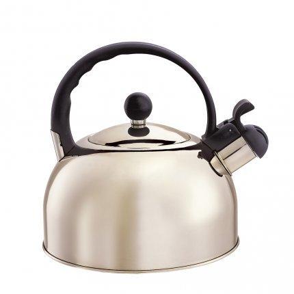 bouilloire sifflante melitta en acier 2l