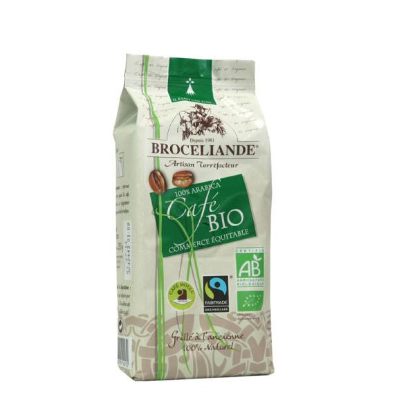 café moulu bio commerce équitable brocéliande - 250 g