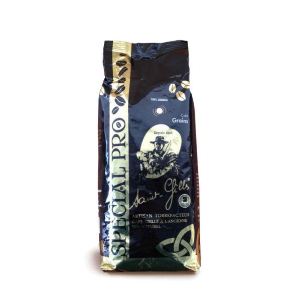 café en grain 100% arabica saint gilles brocéliande - 1 kg