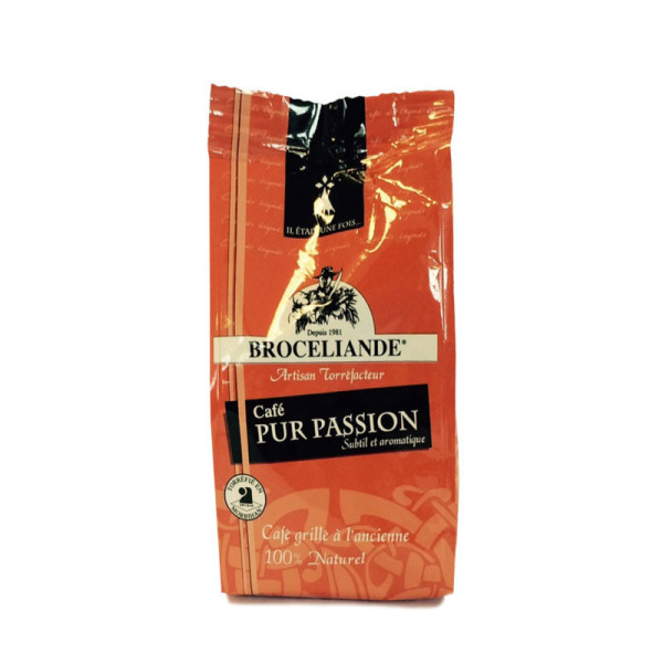 café moulu pur passion brocéliande - 125 g