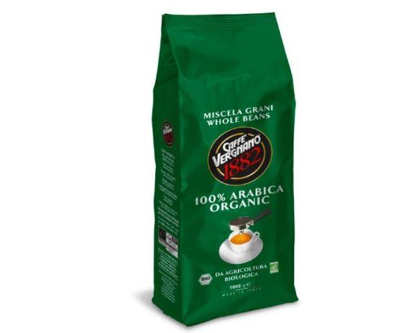 café en grain agriculture biologique caffè vergnano - 1 kg