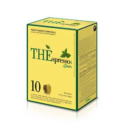 capsules nespresso® compatibles the'spresso vert caffè vergnano  x 10