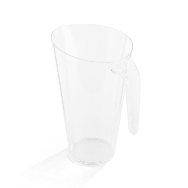 carafe en plastique rigide transparent (1,5 l)