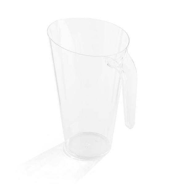 carafe en plastique rigide transparent (1,5 l) x 5