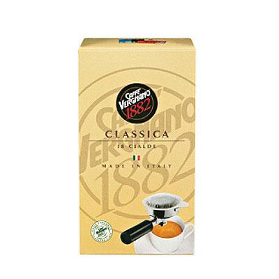dosettes café classica ese caffè vergnano x 18