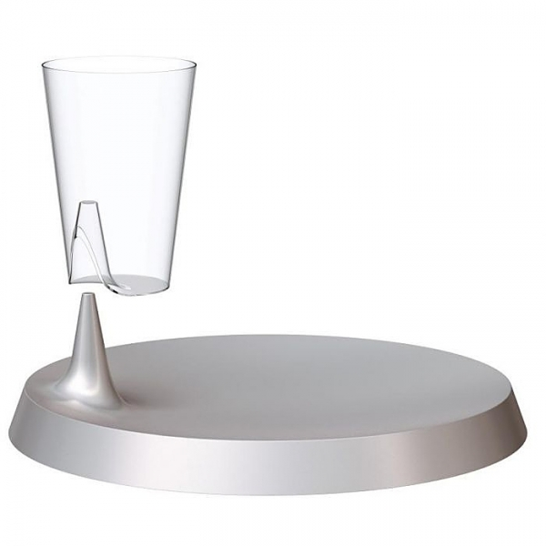 verre concept lunch rond lux by starck x 6