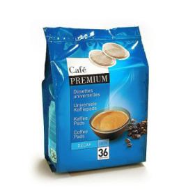 dosettes décaféiné pour senseo® premium café liégeois x 36