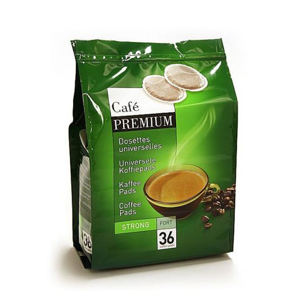 dosettes strong fort pour senseo® premium café liégeois x 36