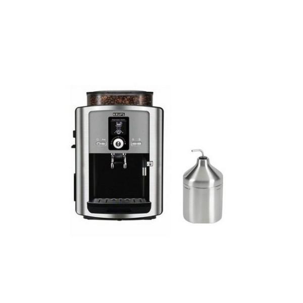 robot café krups cappuccinatore métal