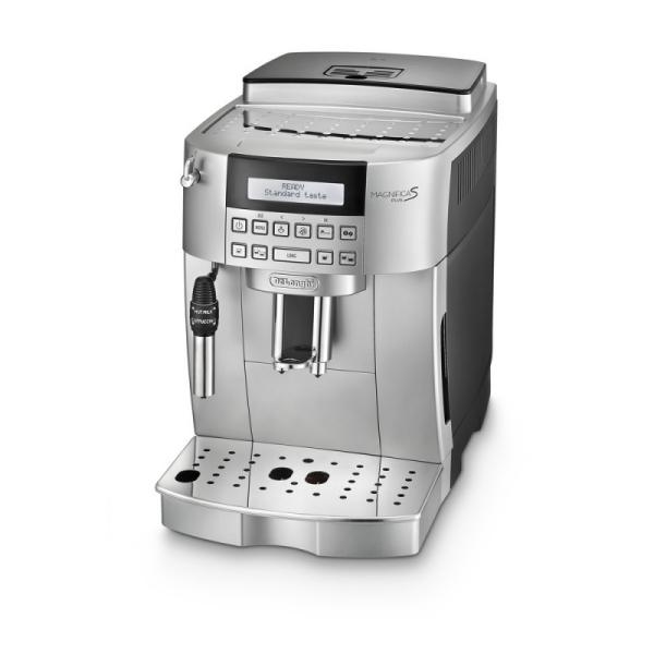 machine à café argent magnifica s plus de'longhi ecam 22.340.sb