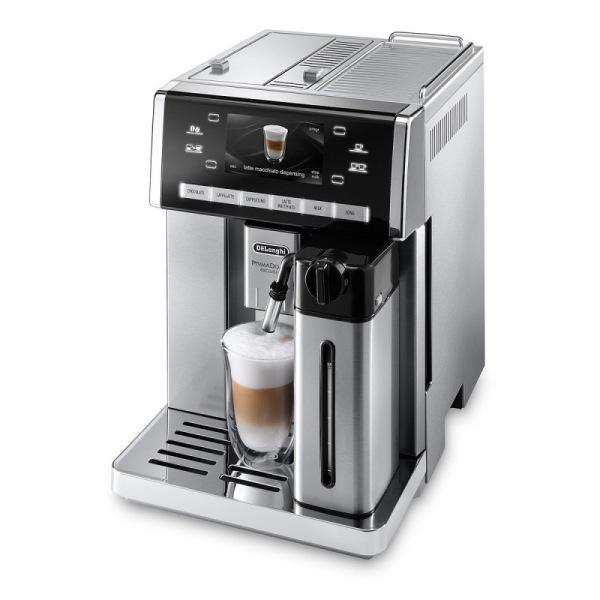 machine à café argent primadonna exclusive de'longhi esam 6900.m