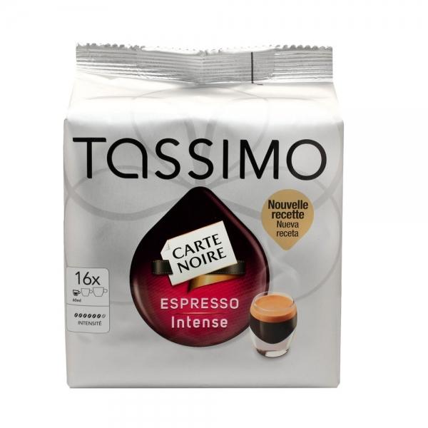 16 dosettes tassimo carte noire café long intense