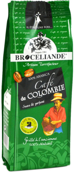 café moulu brocéliande colombie - 250 g
